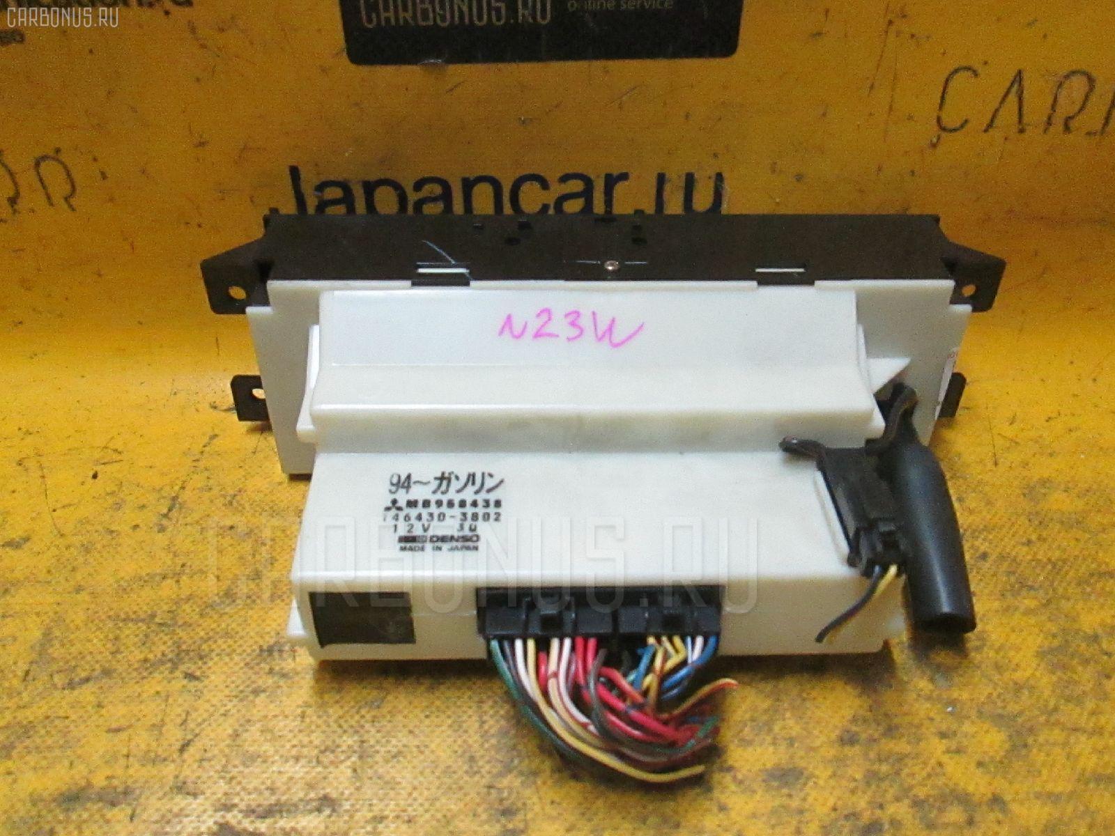 Блок управления климатконтроля Mitsubishi Rvr sports gear N23WG 4G63 Фото 1