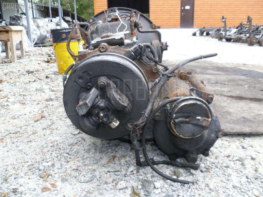 КПП механическая ISUZU ELF NKS71E 4HG1. Фото 8