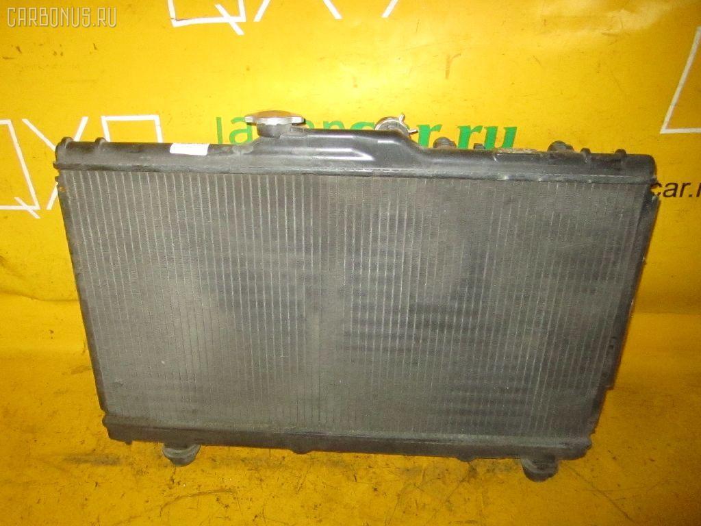 Радиатор ДВС TOYOTA COROLLA CERES AE100 5A-FE. Фото 6