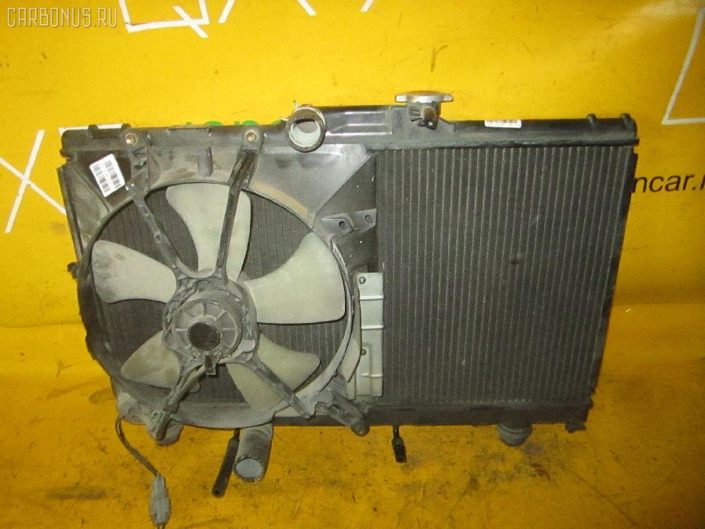 Радиатор ДВС TOYOTA COROLLA CERES AE100 5A-FE. Фото 7