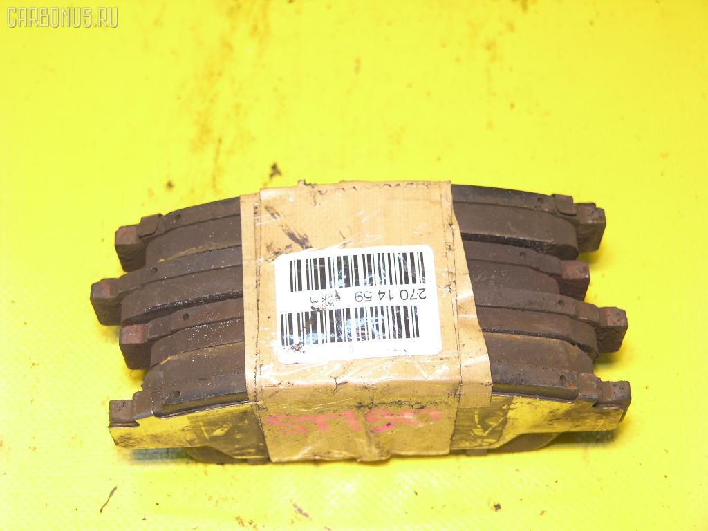 Тормозные колодки TOYOTA CORONA ST190 4S-FE. Фото 4