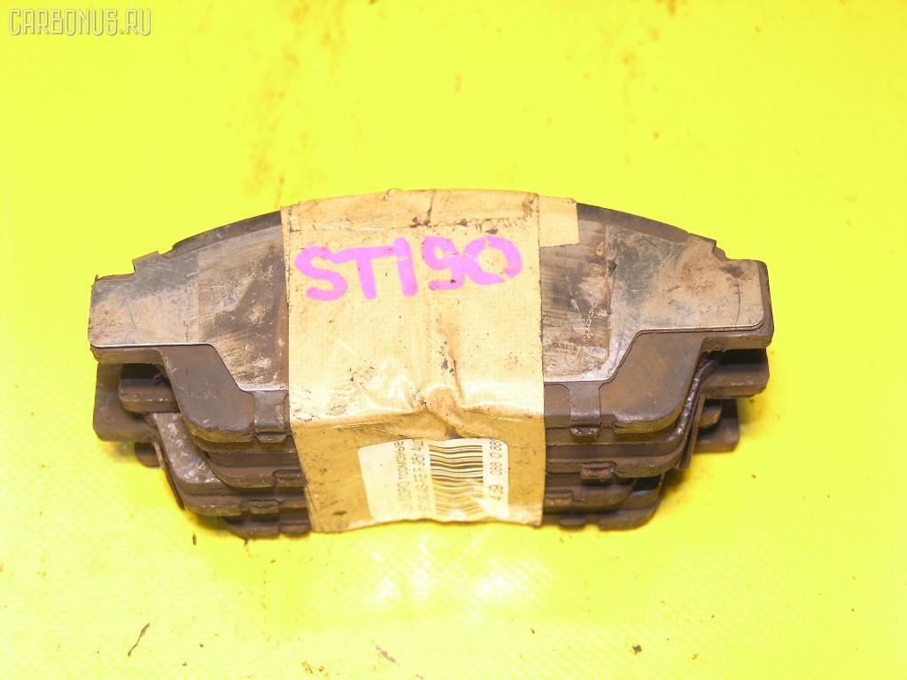 Тормозные колодки TOYOTA CORONA ST190 4S-FE. Фото 5