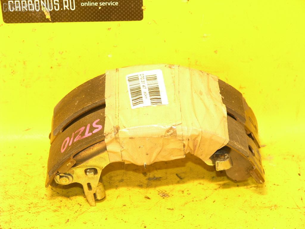 Тормозные колодки TOYOTA CALDINA AT211G 7A-FE. Фото 4