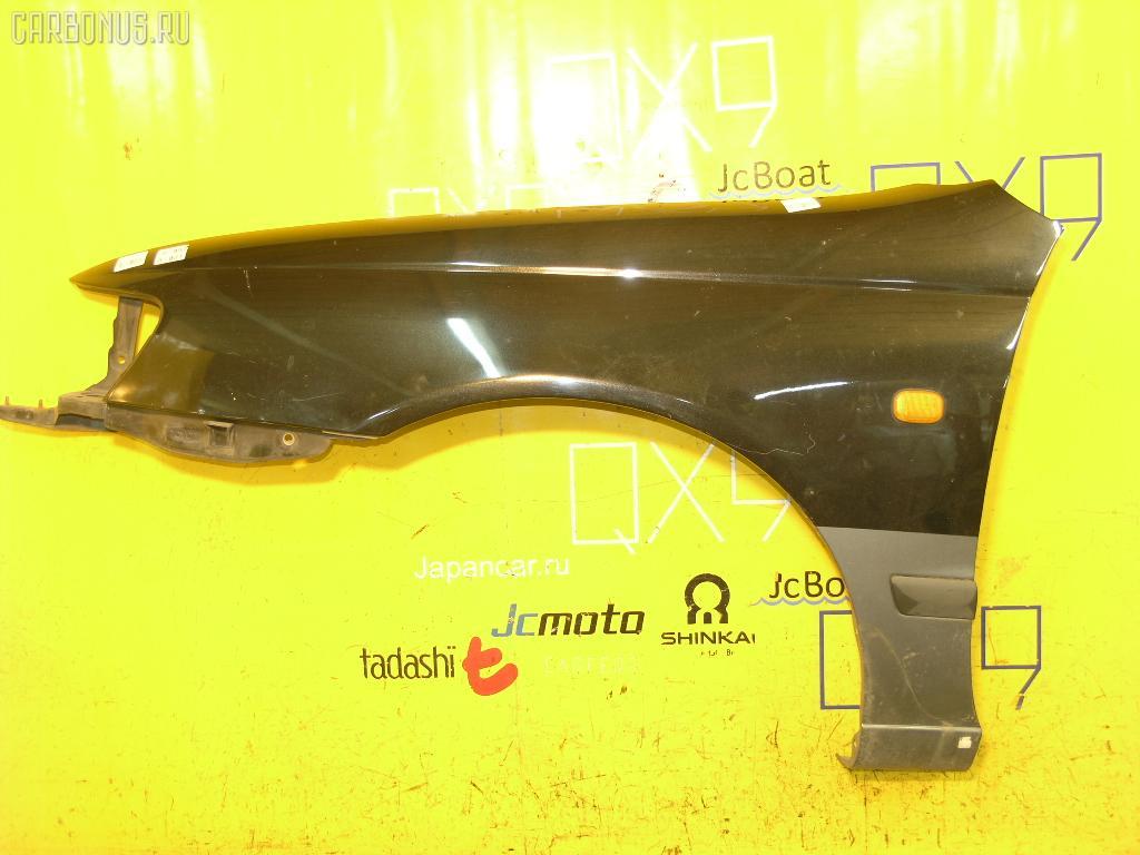 Крыло переднее TOYOTA CALDINA ST191G. Фото 4