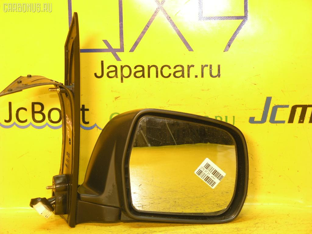 Зеркало двери боковой TOYOTA NOAH AZR60G. Фото 4