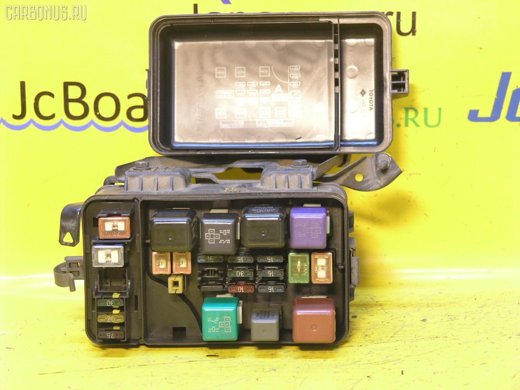 Блок предохранителей TOYOTA CARINA ST190 4S-FE. Фото 1