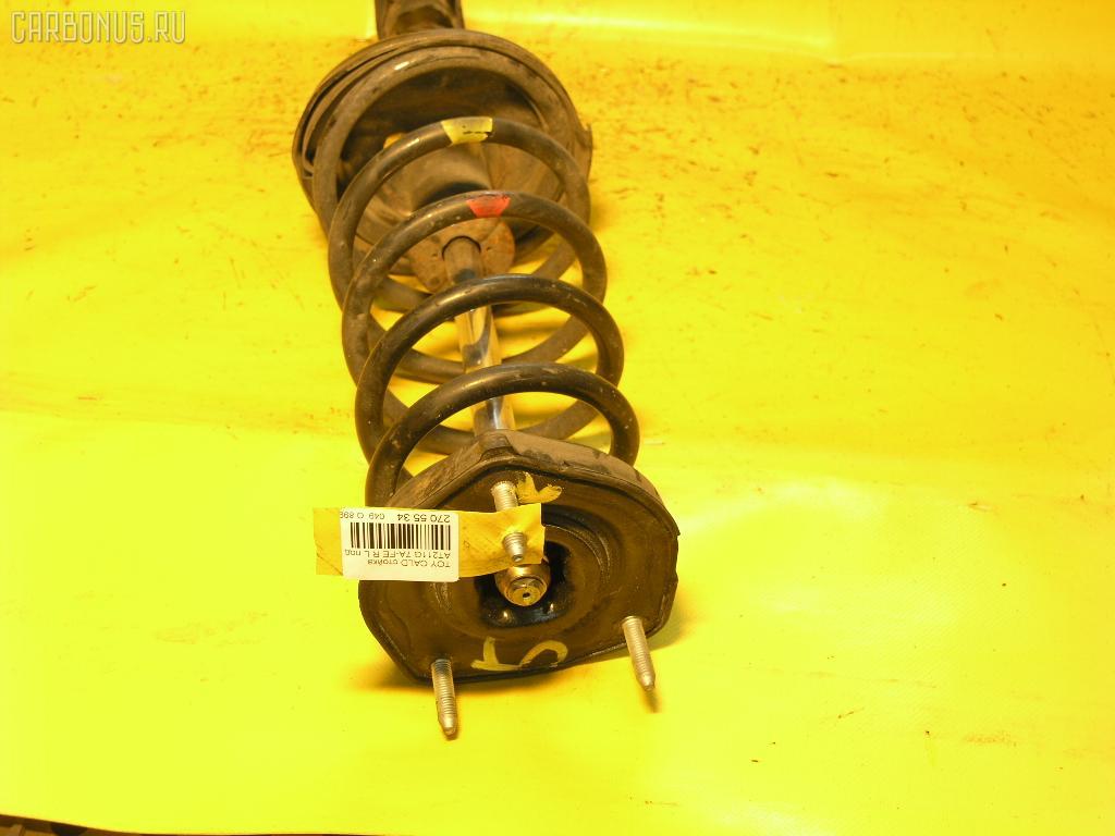Стойка амортизатора TOYOTA CALDINA AT211G 7A-FE. Фото 2