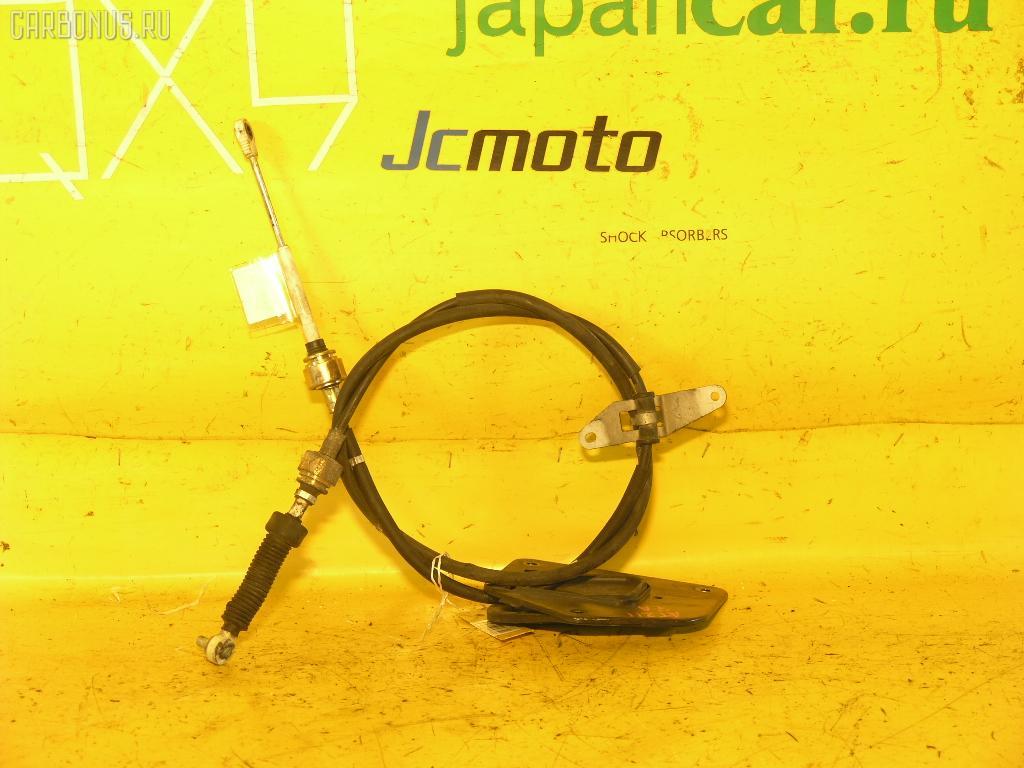 Тросик на коробку передач TOYOTA CALDINA AT211G 7A-FE. Фото 1