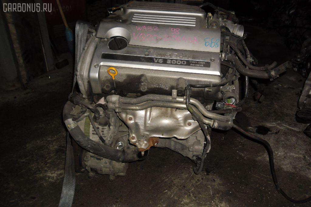 Двигатель NISSAN CEFIRO WAGON WA32 VQ20DE. Фото 9