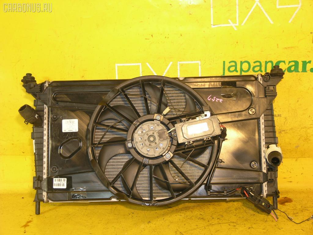 Радиатор ДВС FORD FOCUS II WF0AOD AODA. Фото 4