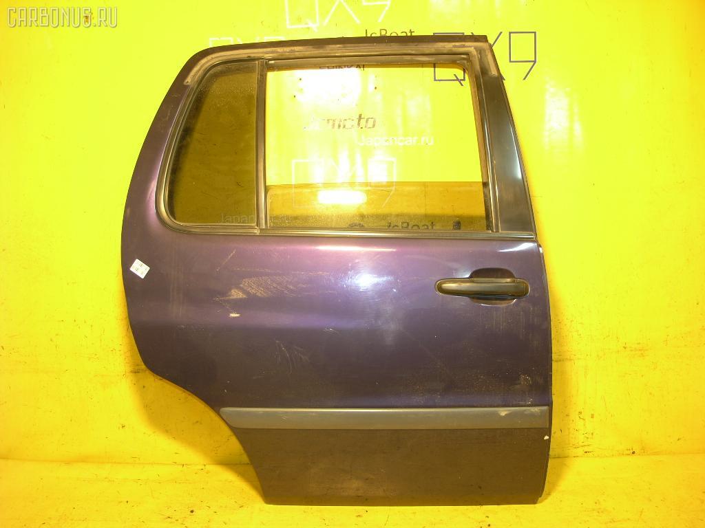 Дверь боковая TOYOTA RAUM EXZ10. Фото 2
