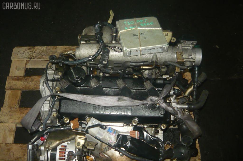 Двигатель NISSAN X-TRAIL T30 QR20DE. Фото 6