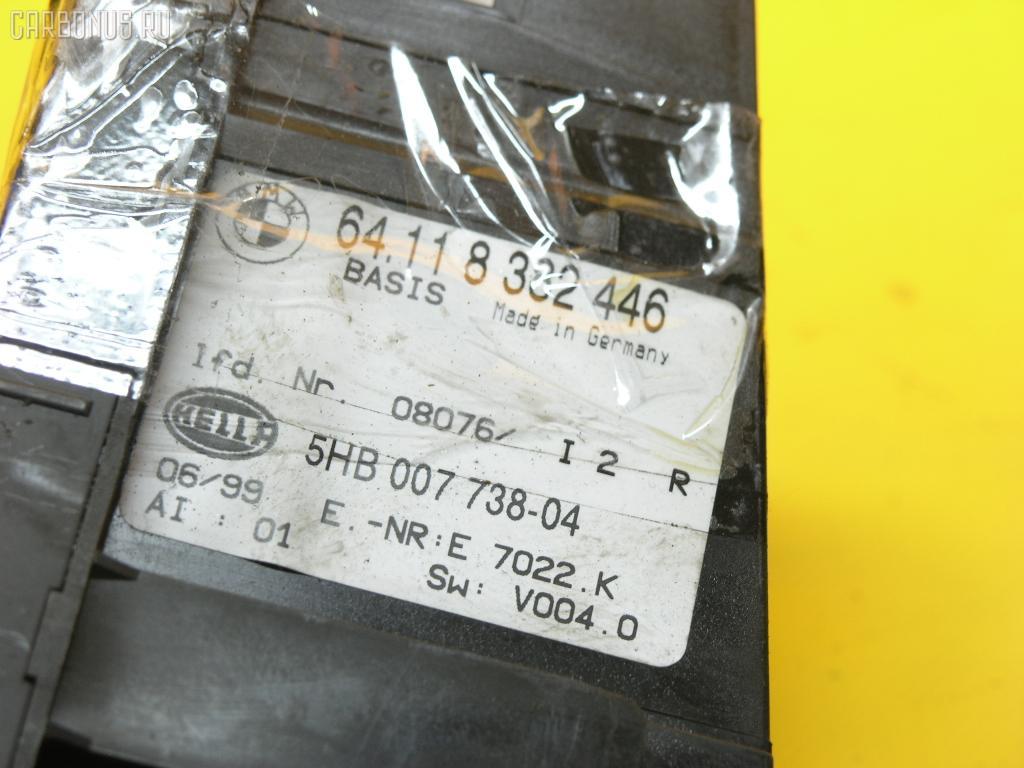 Блок управления климатконтроля BMW 3-SERIES E46-AL32 M43-194E1 Фото 3