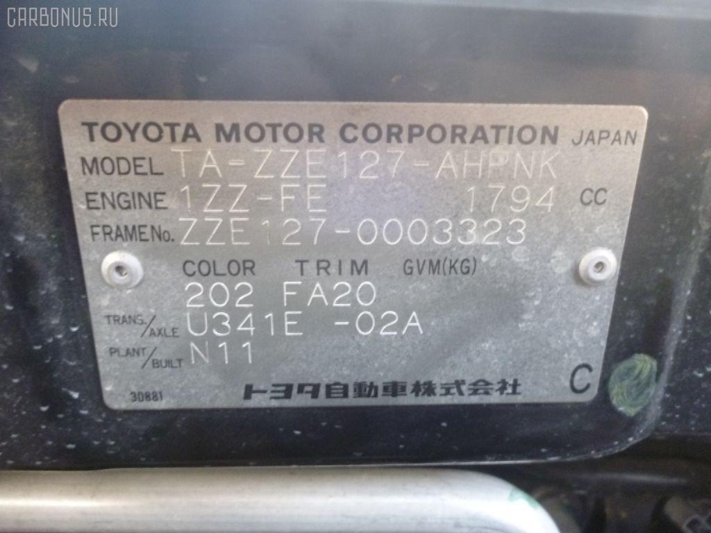 Подушка двигателя TOYOTA WILL VS ZZE127 1ZZ-FE Фото 2