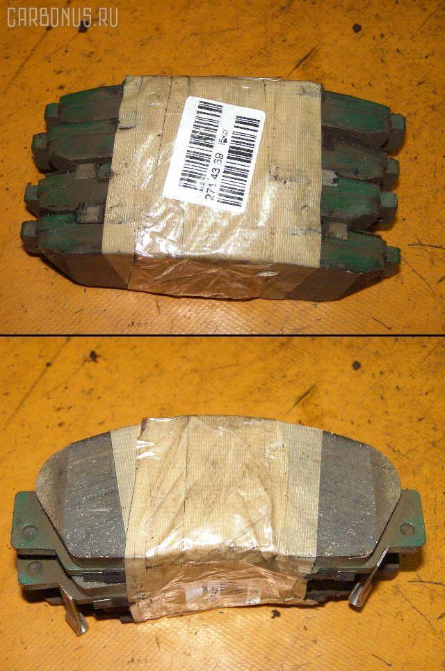 Тормозные колодки HONDA ACCORD WAGON CH9 H23A. Фото 4