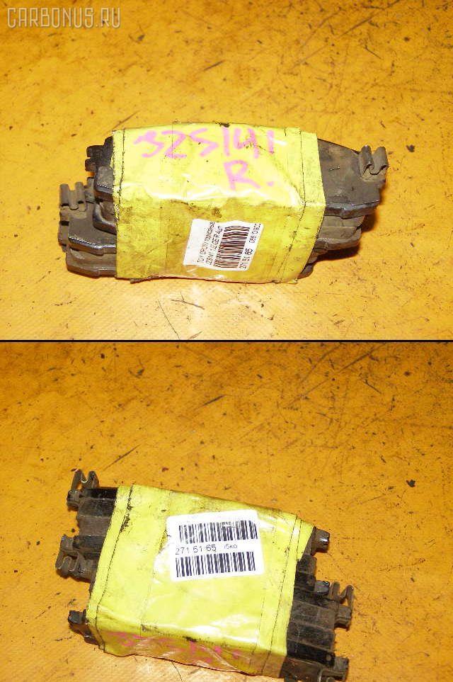 Тормозные колодки TOYOTA MARK II GX81 1G-GE. Фото 4