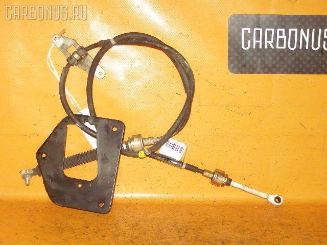 Тросик на коробку передач TOYOTA CALDINA ST210G 3S-FE. Фото 5