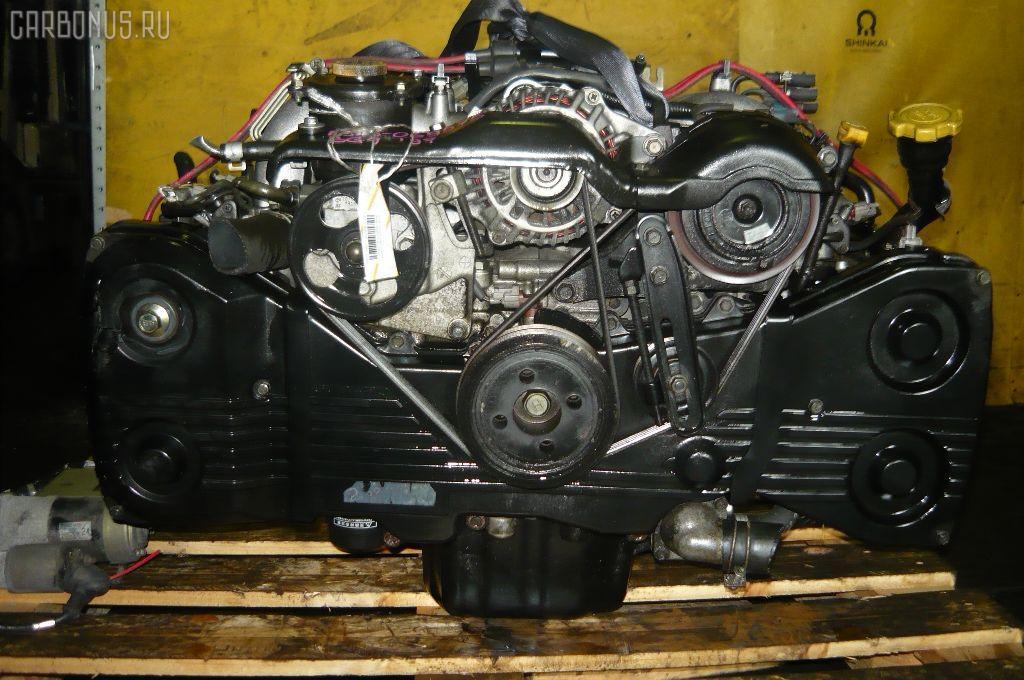 Двигатель SUBARU LEGACY GRAND WAGON BG9 EJ25. Фото 4