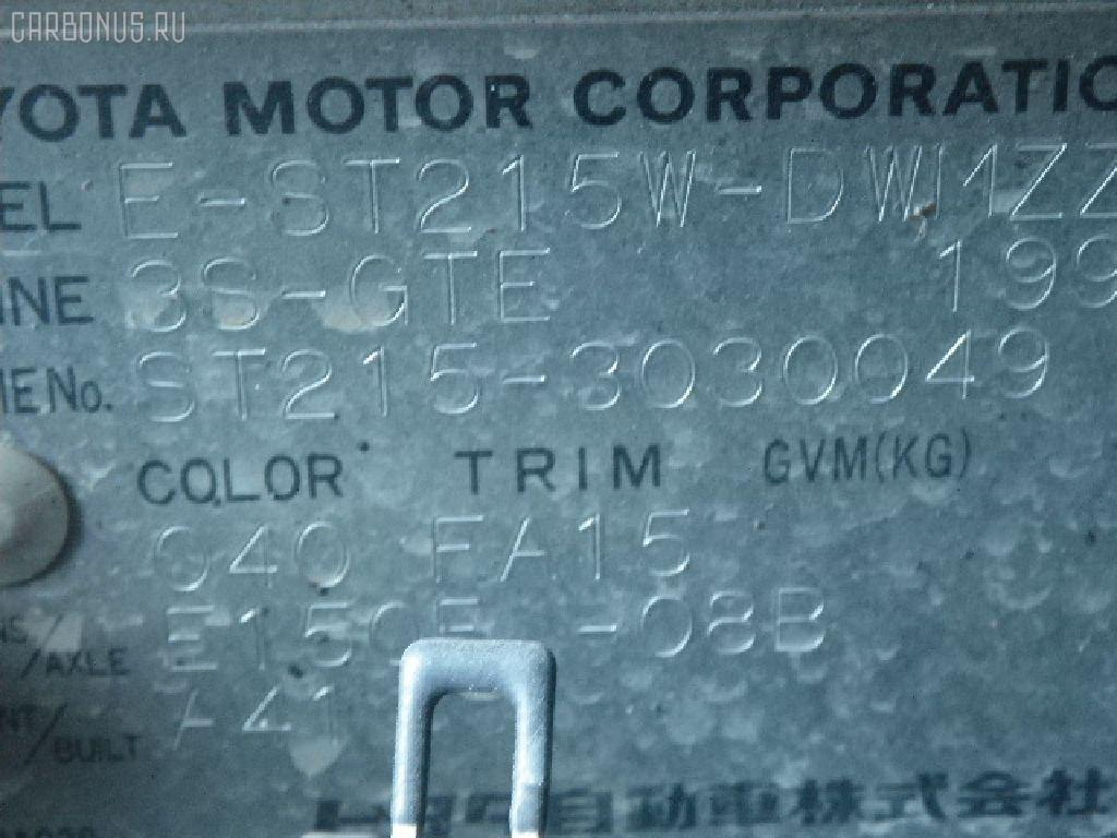 Балка под ДВС TOYOTA CALDINA ST215W 3S-GTE Фото 2