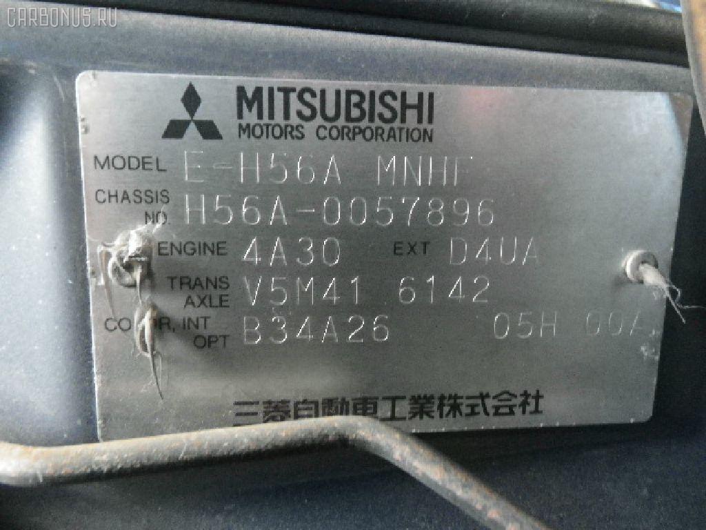 Вентилятор радиатора кондиционера MITSUBISHI PAJERO MINI H56A 4A30T Фото 4