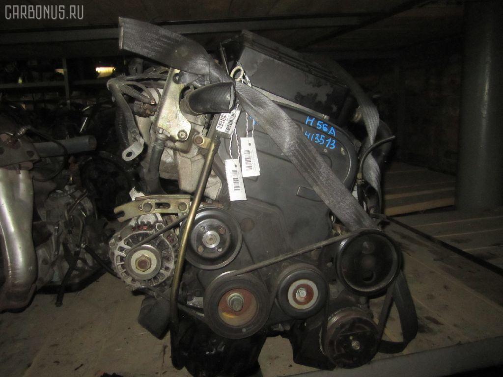 Двигатель MITSUBISHI PAJERO MINI H56A 4A30T. Фото 8