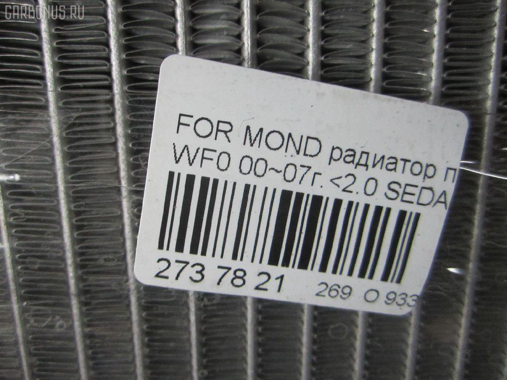 Радиатор печки FORD MONDEO III WF0LCB Фото 3