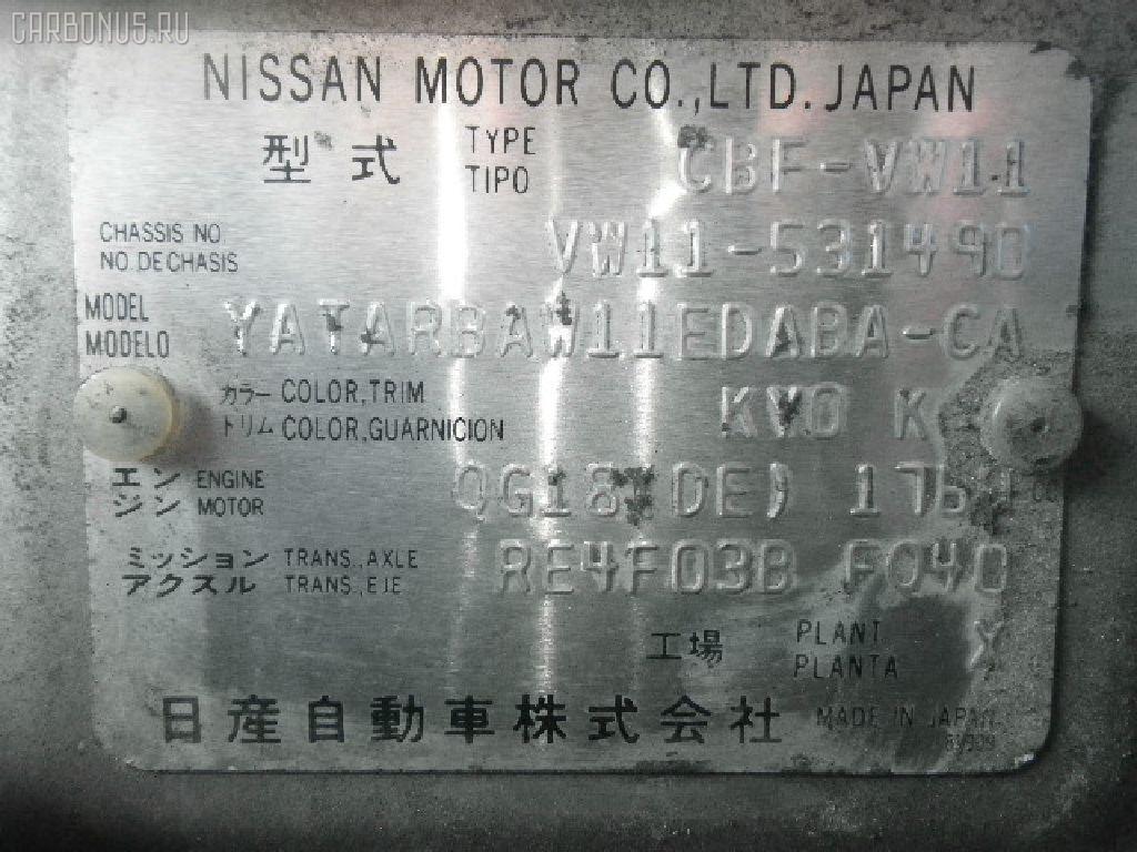 Переключатель поворотов NISSAN EXPERT VW11 Фото 2