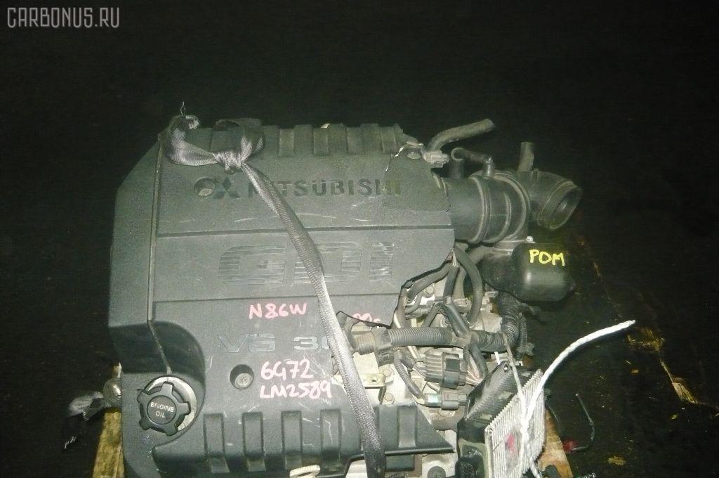 Двигатель MITSUBISHI CHARIOT GRANDIS N86W 6G72. Фото 3