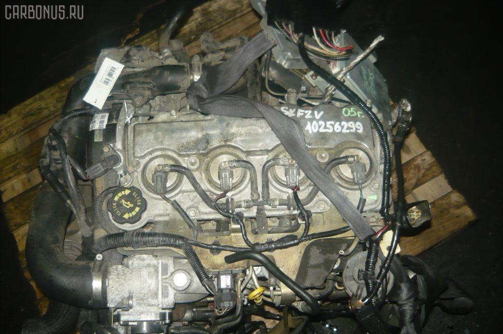 Двигатель MAZDA BONGO SKF2V RF-T. Фото 2