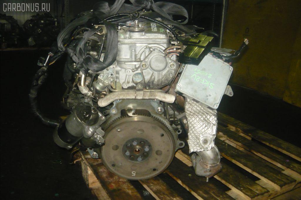 Двигатель MAZDA BONGO SKF2V RF-T. Фото 4