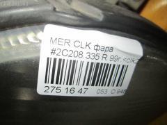 Фара Mercedes-benz Clk-class C208.335 Фото 10