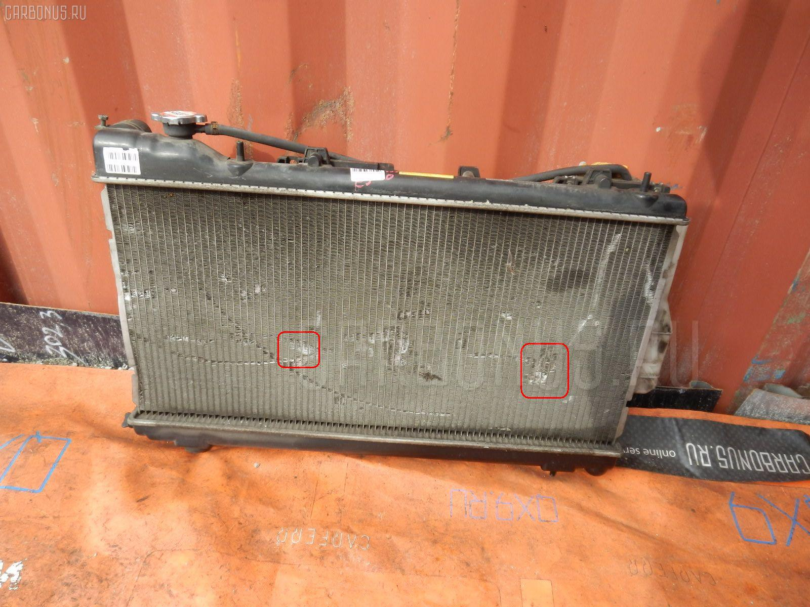 Радиатор ДВС SUBARU IMPREZA WAGON GF2 EJ15. Фото 4