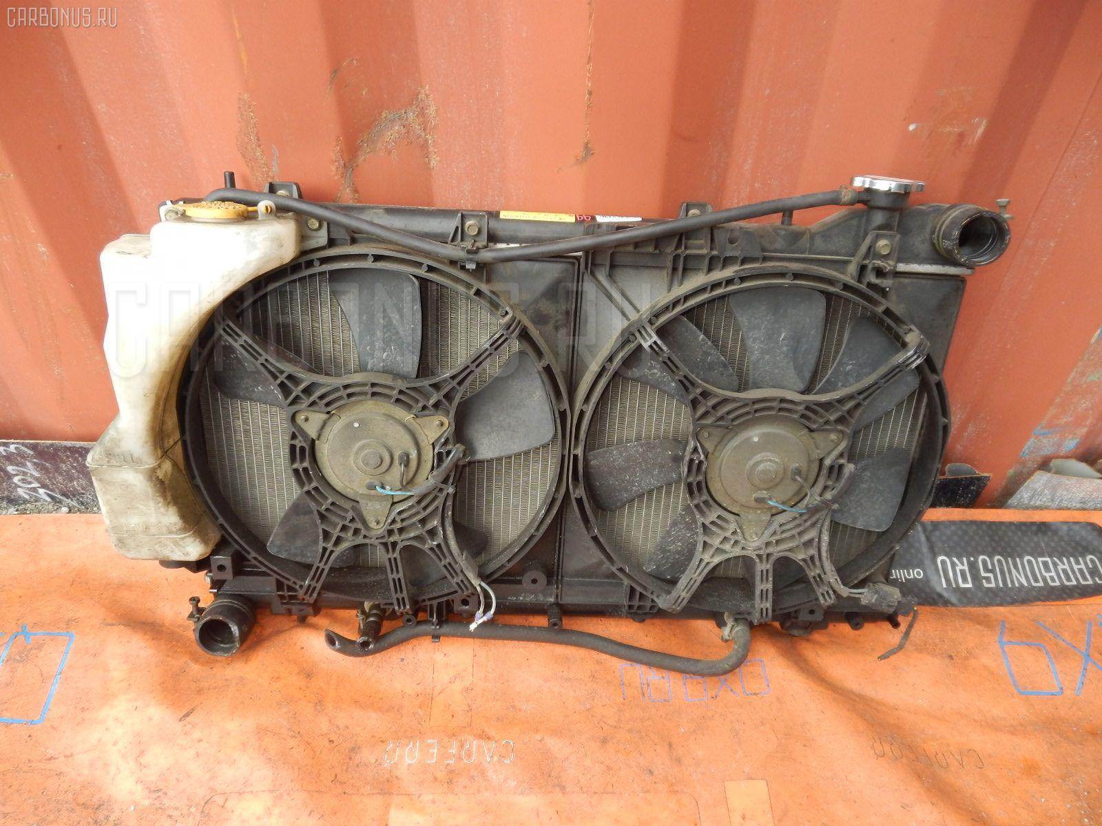 Радиатор ДВС SUBARU IMPREZA WAGON GF2 EJ15. Фото 7
