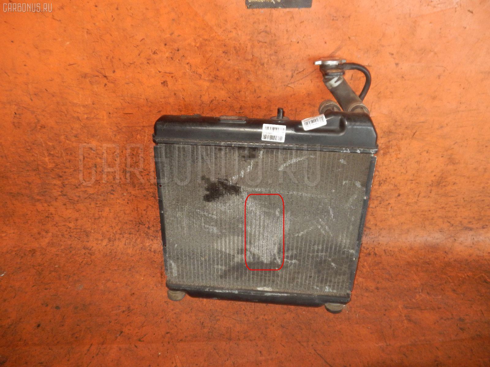 Радиатор ДВС HONDA FIT GD2 L13A. Фото 5