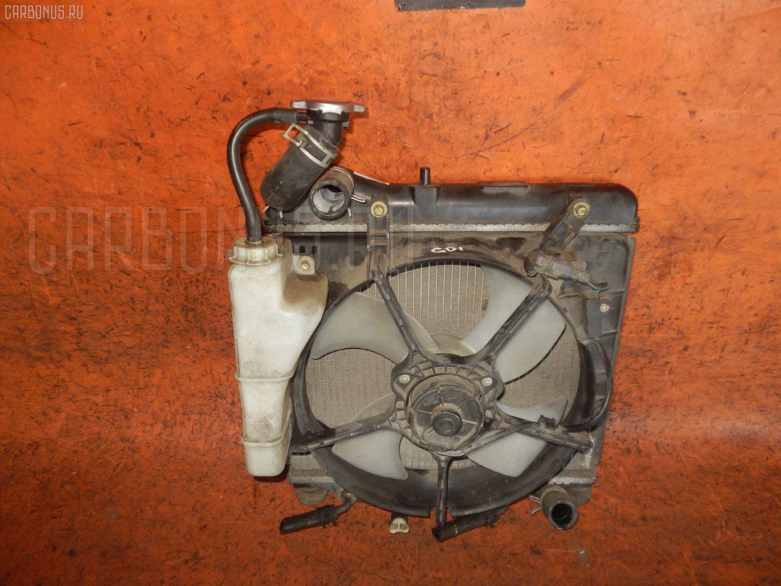 Радиатор ДВС HONDA FIT GD2 L13A. Фото 7