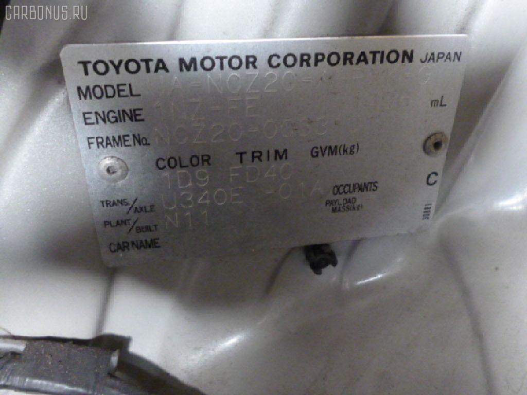 Кожух рулевой колонки TOYOTA RAUM NCZ20 Фото 3