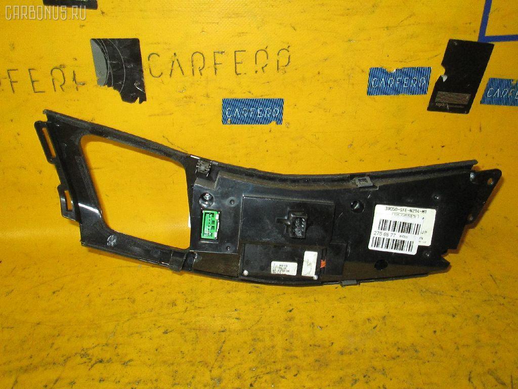 Блок управления климатконтроля HONDA ODYSSEY RB2 K24A. Фото 4