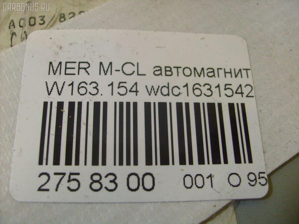 Автомагнитофон MERCEDES-BENZ M-CLASS W163.154 Фото 3