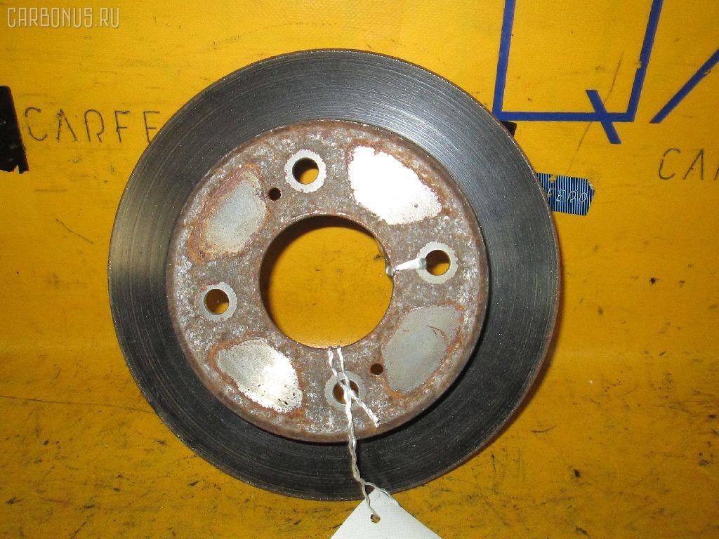 Тормозной диск NISSAN BLUEBIRD HU14. Фото 1