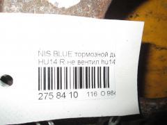Тормозной диск NISSAN BLUEBIRD HU14 Фото 3