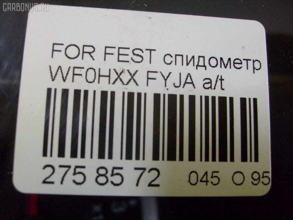 Спидометр FORD FIESTA V WF0FYJ FYJA Фото 3