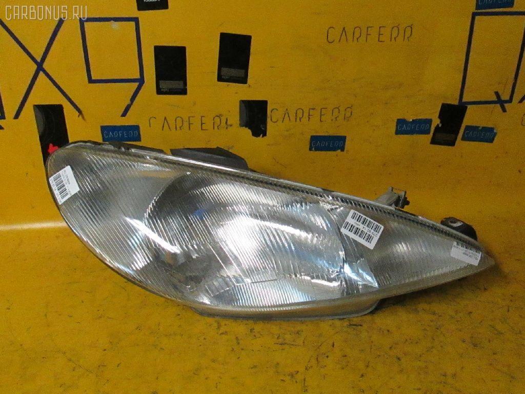Фара Peugeot 206 2AKFW Фото 1