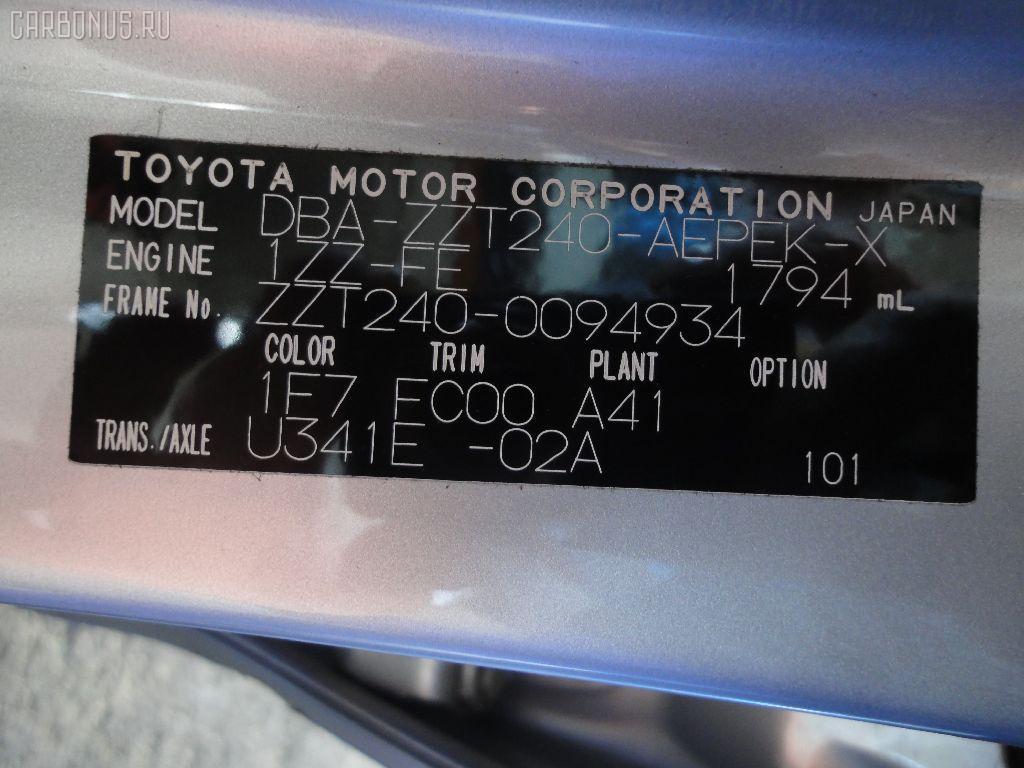 Переключатель поворотов TOYOTA PREMIO ZZT240 Фото 4