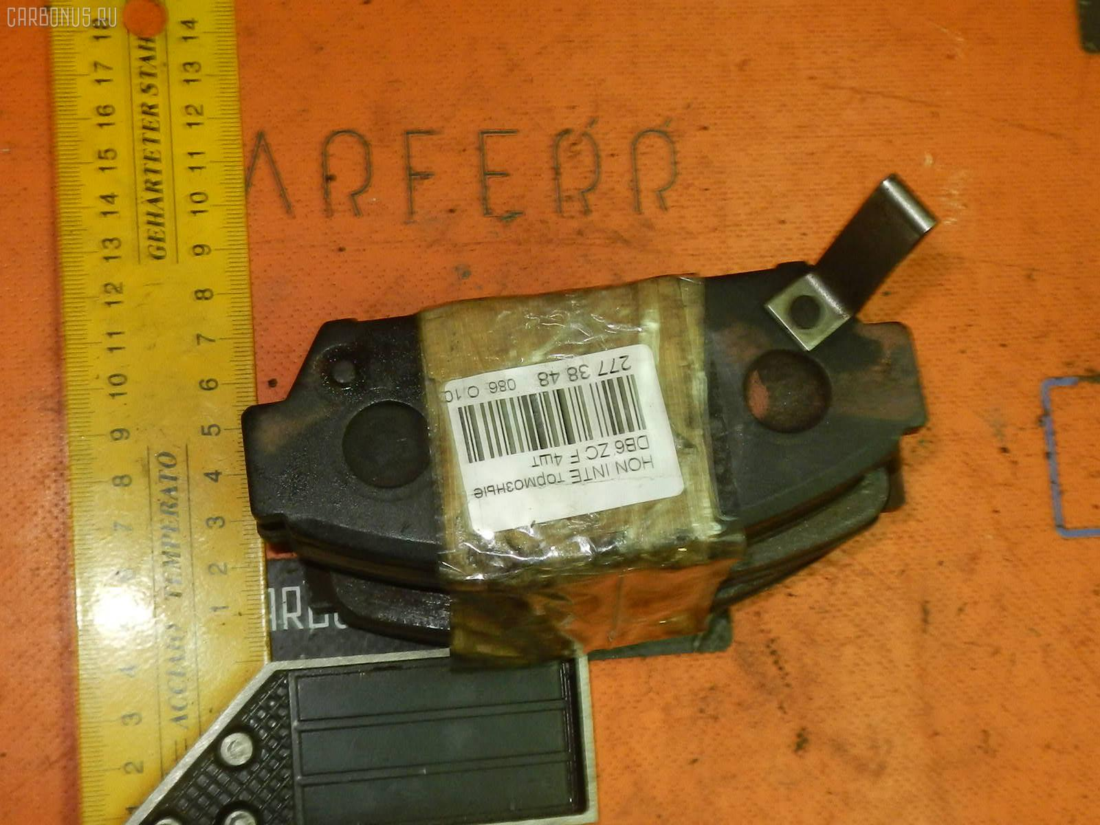 Тормозные колодки Honda Integra DB6 ZC Фото 1