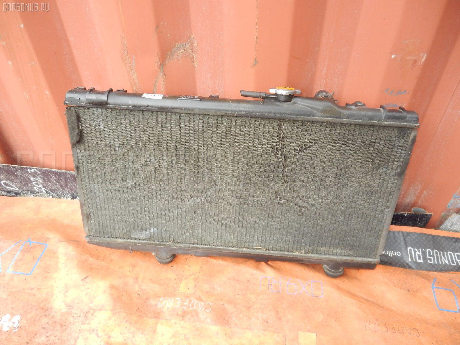 Радиатор ДВС TOYOTA CYNOS EL44 5E-FE Фото 2
