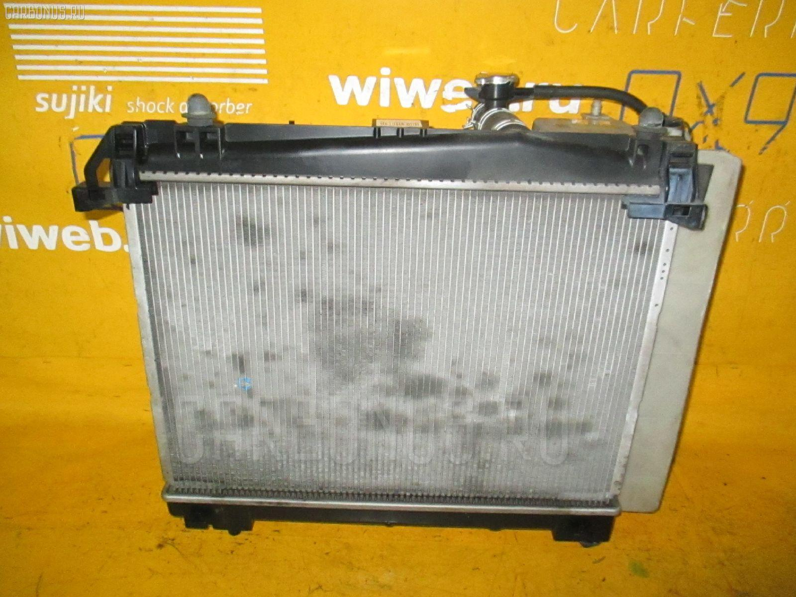 Радиатор ДВС TOYOTA VITZ KSP90 1KR-FE. Фото 1