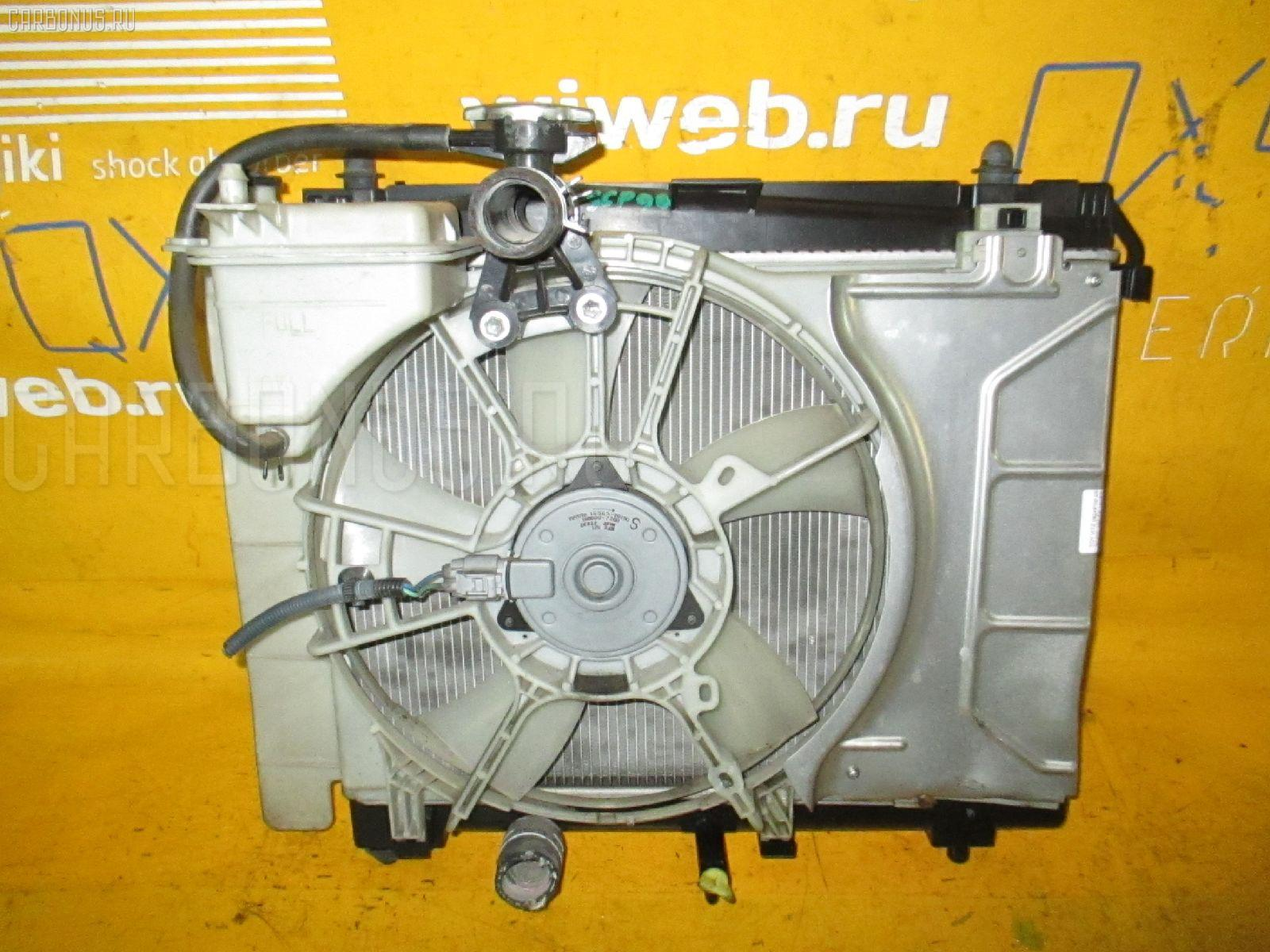 Радиатор ДВС TOYOTA VITZ KSP90 1KR-FE. Фото 6
