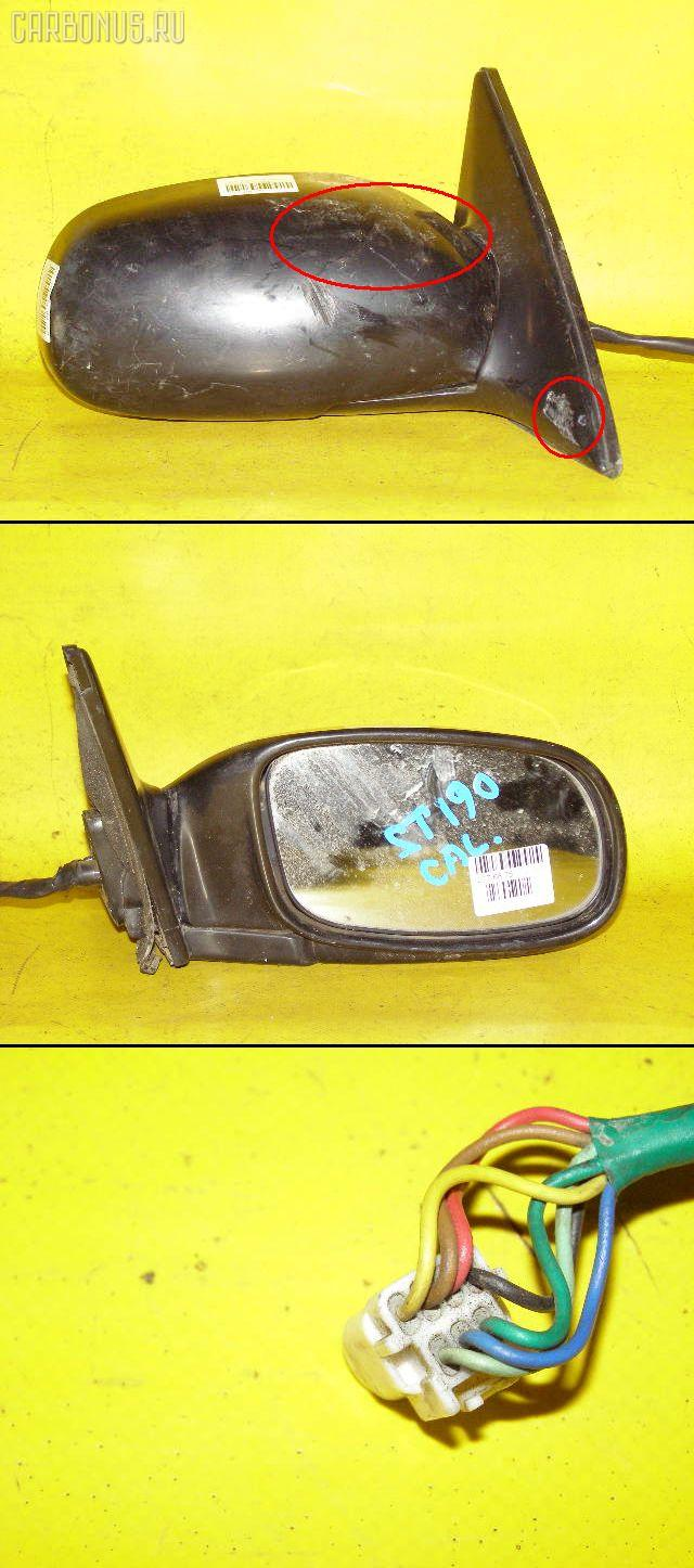 Зеркало двери боковой TOYOTA CALDINA ST190G Фото 1