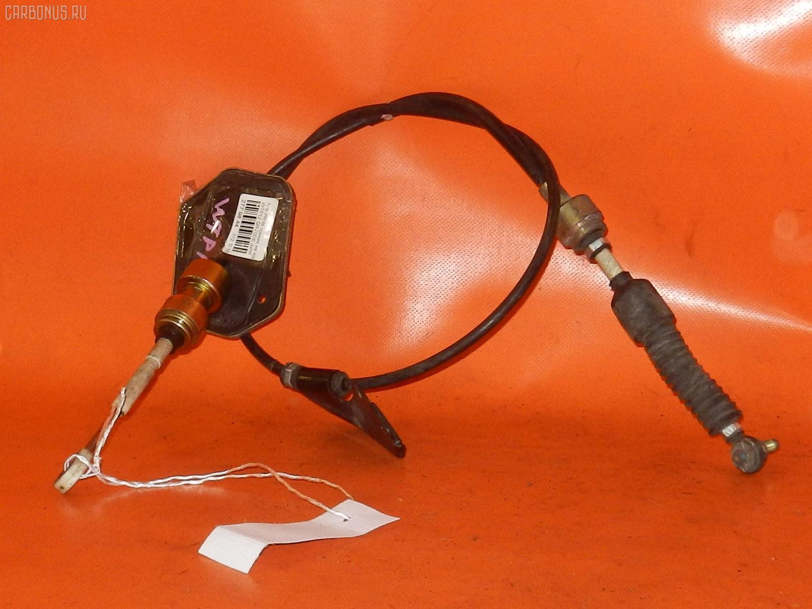 Тросик на коробку передач NISSAN PRIMERA WAGON WTP12 QR20DE. Фото 4