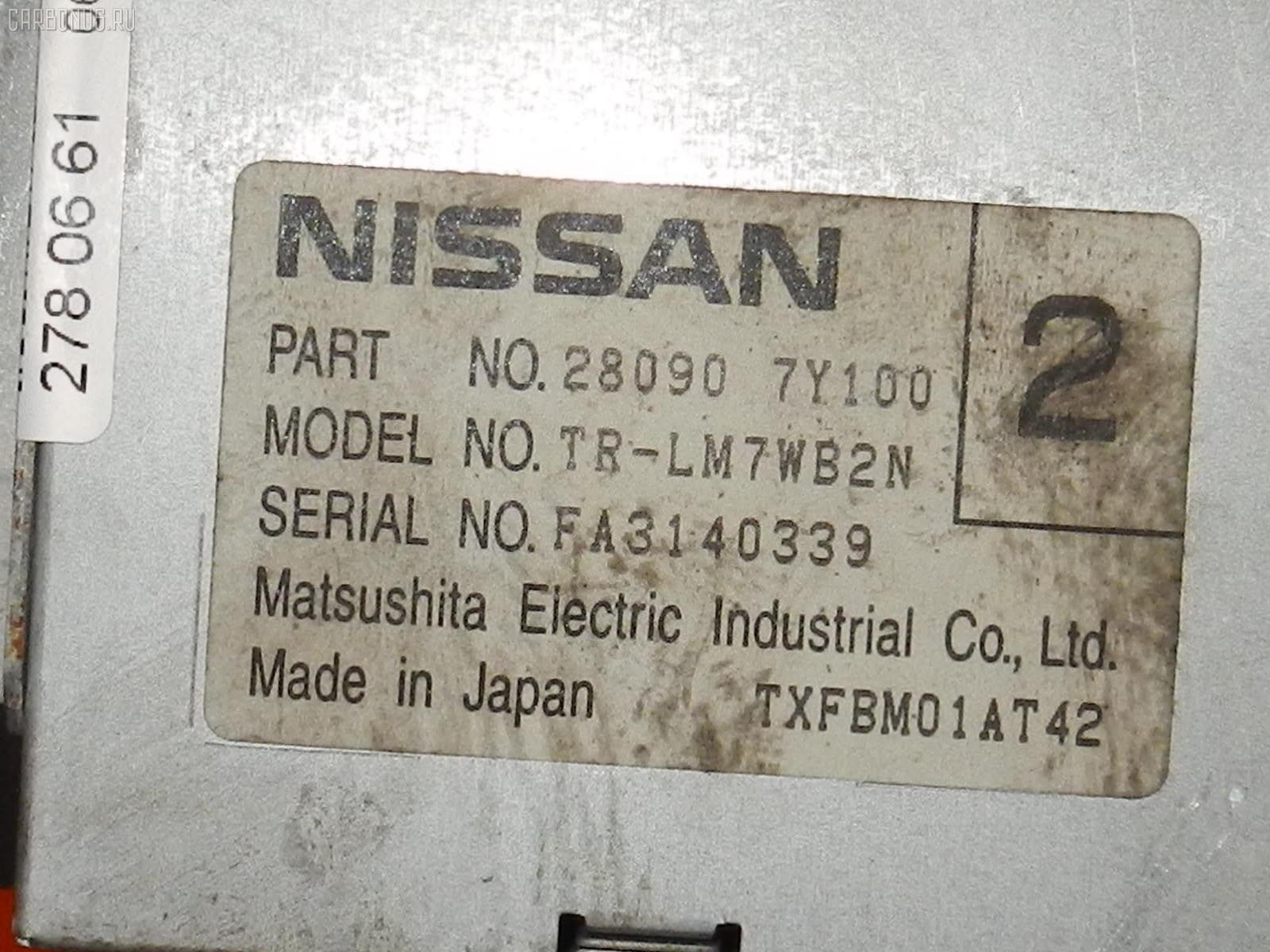 Дисплей информационный NISSAN TEANA J31. Фото 4